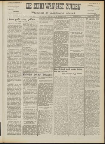 Echo van het Zuiden 1958-09-15