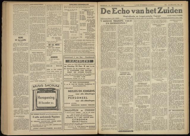 Echo van het Zuiden 1946-12-10