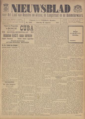 Nieuwsblad het land van Heusden en Altena de Langstraat en de Bommelerwaard 1917-08-25