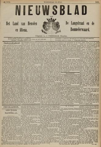 Nieuwsblad het land van Heusden en Altena de Langstraat en de Bommelerwaard 1891-07-29