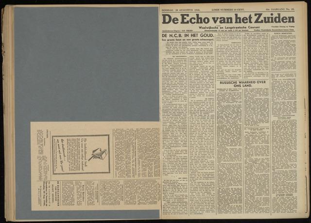 Echo van het Zuiden 1946-08-20