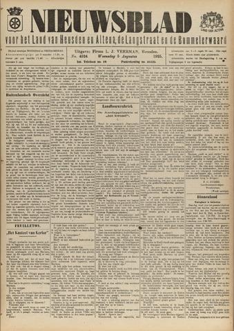 Nieuwsblad het land van Heusden en Altena de Langstraat en de Bommelerwaard 1925-08-05