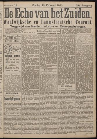 Echo van het Zuiden 1912-02-18