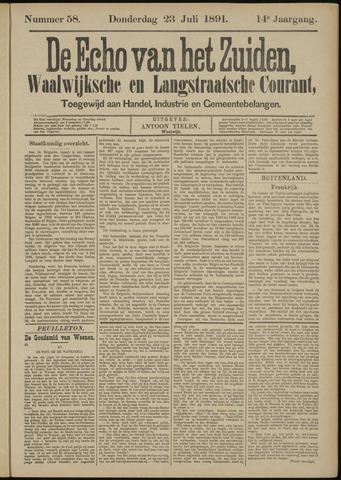Echo van het Zuiden 1891-07-23