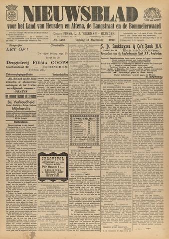 Nieuwsblad het land van Heusden en Altena de Langstraat en de Bommelerwaard 1932-12-16