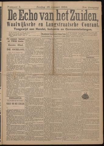 Echo van het Zuiden 1916-01-16