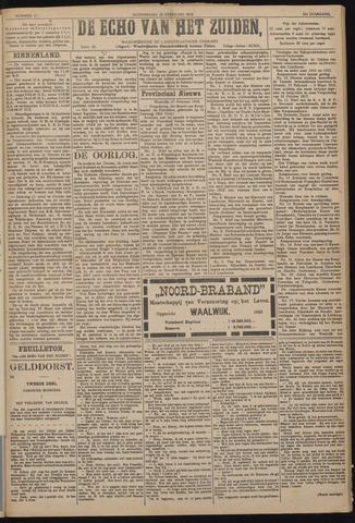 Echo van het Zuiden 1918-02-28