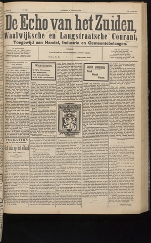 Echo van het Zuiden 1932-02-13