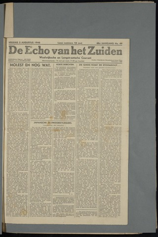 Echo van het Zuiden 1945-08-03