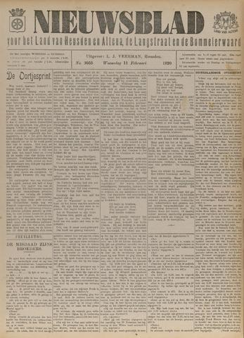 Nieuwsblad het land van Heusden en Altena de Langstraat en de Bommelerwaard 1920-02-11