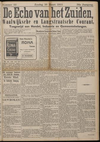 Echo van het Zuiden 1913-03-16