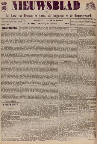 Nieuwsblad het land van Heusden en Altena de Langstraat en de Bommelerwaard 1909-11-24
