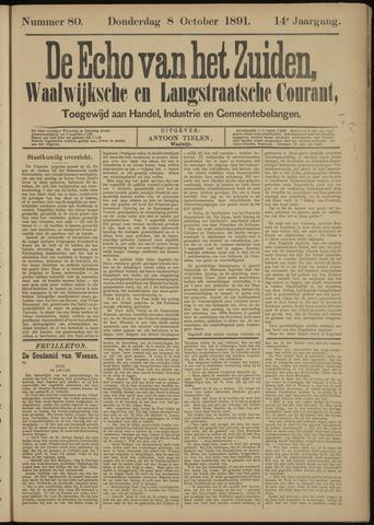 Echo van het Zuiden 1891-10-08