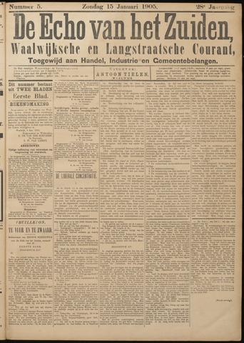 Echo van het Zuiden 1905-01-15