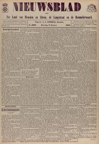 Nieuwsblad het land van Heusden en Altena de Langstraat en de Bommelerwaard 1910-01-08