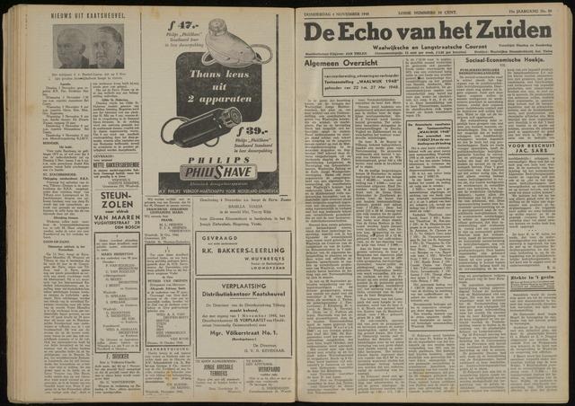 Echo van het Zuiden 1948-11-04