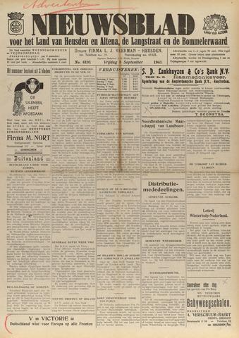 Nieuwsblad het land van Heusden en Altena de Langstraat en de Bommelerwaard 1941-09-05