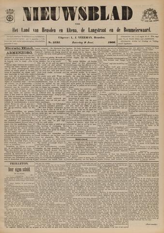 Nieuwsblad het land van Heusden en Altena de Langstraat en de Bommelerwaard 1906-06-09
