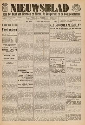 Nieuwsblad het land van Heusden en Altena de Langstraat en de Bommelerwaard 1936-09-25