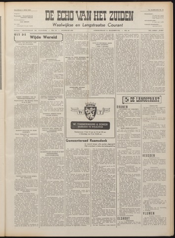 Echo van het Zuiden 1951-07-02