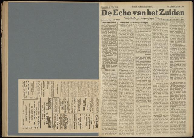 Echo van het Zuiden 1946-07-30