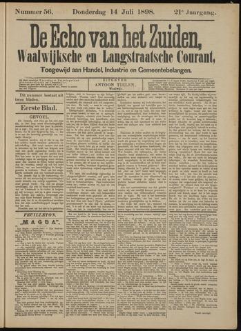 Echo van het Zuiden 1898-07-14