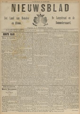 Nieuwsblad het land van Heusden en Altena de Langstraat en de Bommelerwaard 1892-01-23