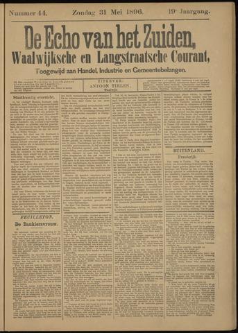 Echo van het Zuiden 1896-05-31