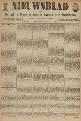 Nieuwsblad het land van Heusden en Altena de Langstraat en de Bommelerwaard 1895-03-09