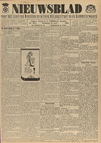 Nieuwsblad het land van Heusden en Altena de Langstraat en de Bommelerwaard 1930-04-16