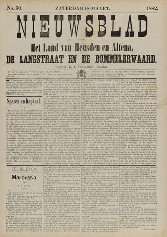Nieuwsblad het land van Heusden en Altena de Langstraat en de Bommelerwaard 1882-03-18