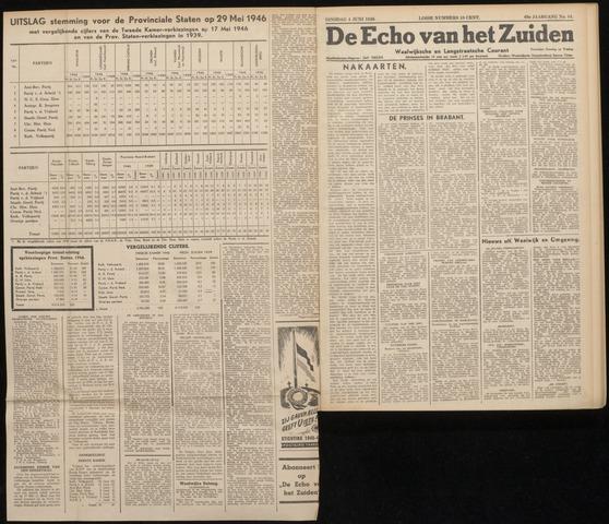Echo van het Zuiden 1946-06-04