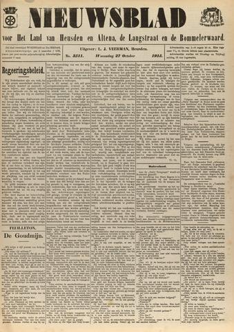Nieuwsblad het land van Heusden en Altena de Langstraat en de Bommelerwaard 1915-10-27