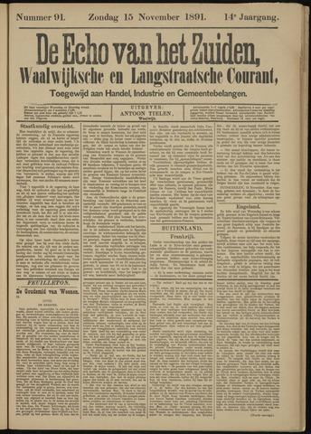 Echo van het Zuiden 1891-11-15