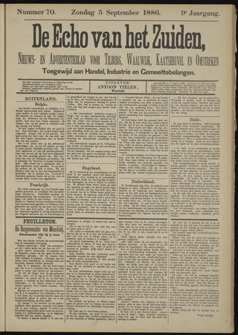 Echo van het Zuiden 1886-09-05