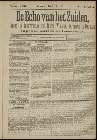 Echo van het Zuiden 1881-05-15