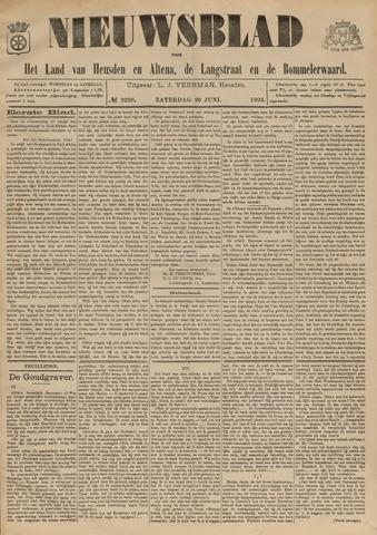 Nieuwsblad het land van Heusden en Altena de Langstraat en de Bommelerwaard 1903-06-20