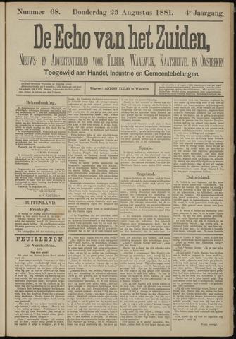 Echo van het Zuiden 1881-08-25