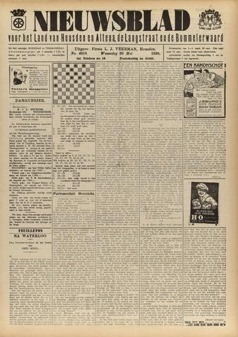 Nieuwsblad het land van Heusden en Altena de Langstraat en de Bommelerwaard 1928-05-30