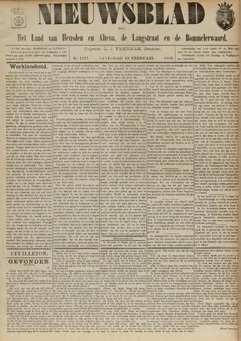 Nieuwsblad het land van Heusden en Altena de Langstraat en de Bommelerwaard 1893-02-18