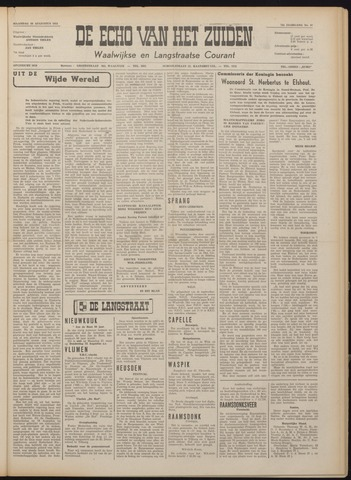 Echo van het Zuiden 1951-08-20