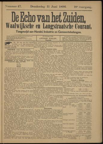 Echo van het Zuiden 1896-06-11