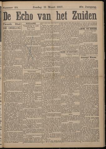 Echo van het Zuiden 1917-03-11