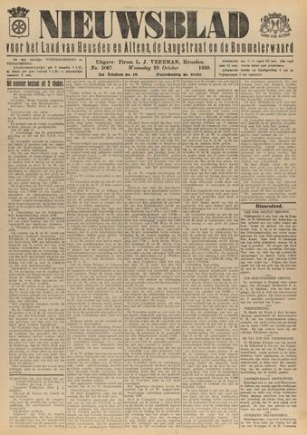 Nieuwsblad het land van Heusden en Altena de Langstraat en de Bommelerwaard 1930-10-29