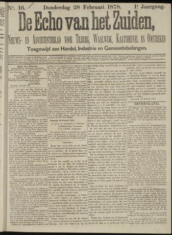 Echo van het Zuiden 1878-02-28