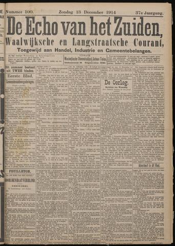 Echo van het Zuiden 1914-12-13