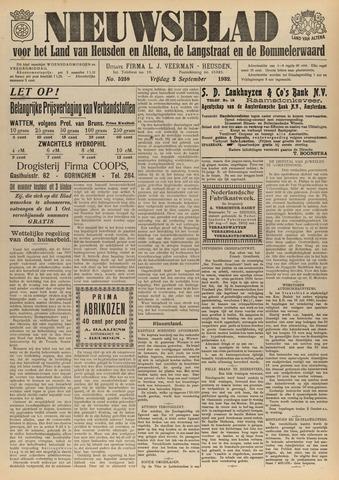 Nieuwsblad het land van Heusden en Altena de Langstraat en de Bommelerwaard 1932-09-02