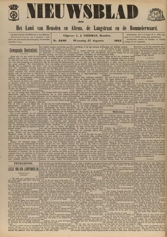 Nieuwsblad het land van Heusden en Altena de Langstraat en de Bommelerwaard 1915-08-11