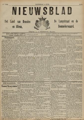 Nieuwsblad het land van Heusden en Altena de Langstraat en de Bommelerwaard 1892-06-04