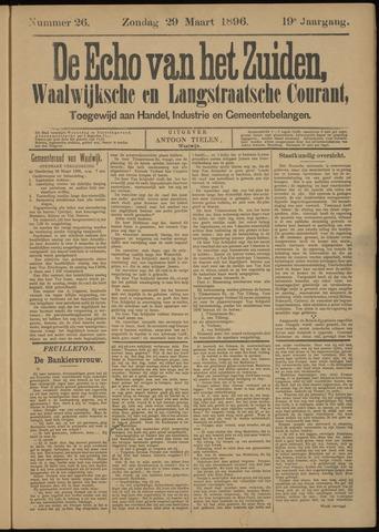 Echo van het Zuiden 1896-03-29